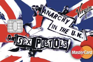 Virgin Money Sex Pistols Credit Cards