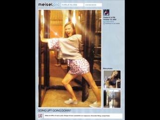 Vogue Italia Stephen Meisel Social Media Spread