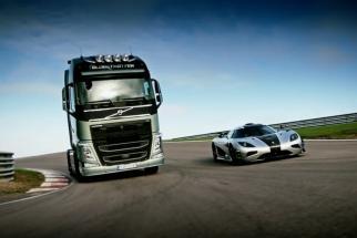 Volvo Trucks Volvo Trucks - Volvo Trucks vs Koenigsegg