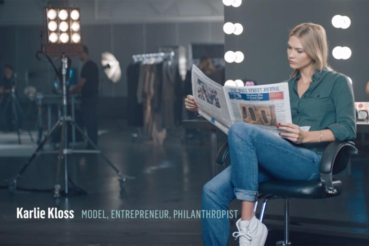 Wall Street Journal Make Time - Karlie Kloss