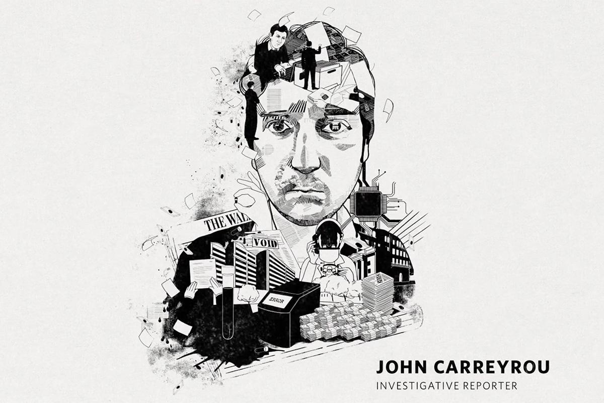 Wall Street Journal The Face of Real News - John Carreyrou