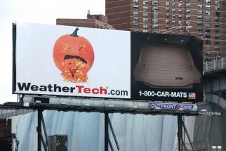WeatherTech Fall 2015 billboard
