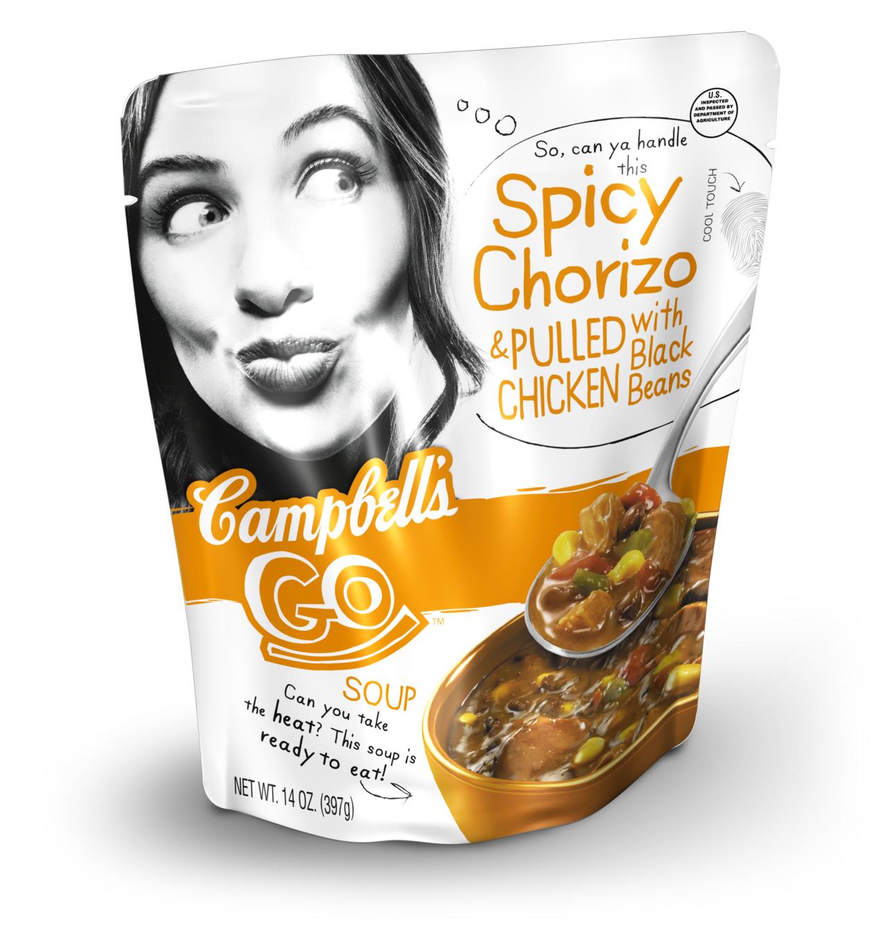 Campbells Go Soup Print image Creativity Online