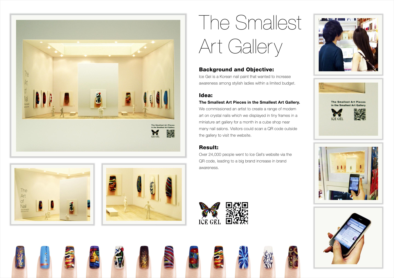 IceGel: The Smallest Art Gallery - Print (image) - Creativity Online