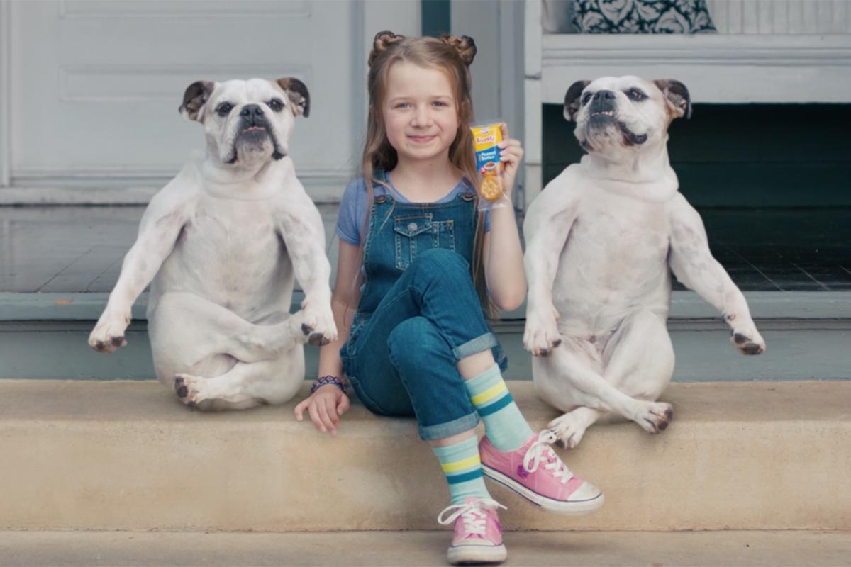 Cross-Legged Dogs and Giggling Grandmas Illustrate the Wonders of Lance Cracker Sandwiches