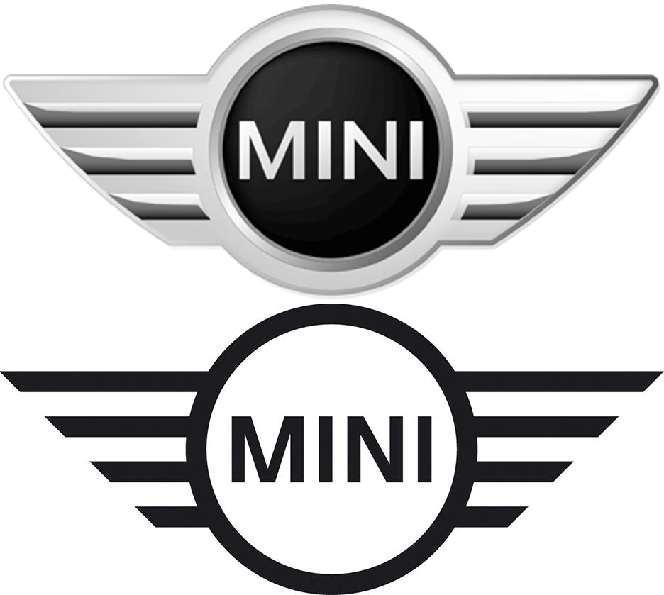 Mini unveils new, stripped down logo