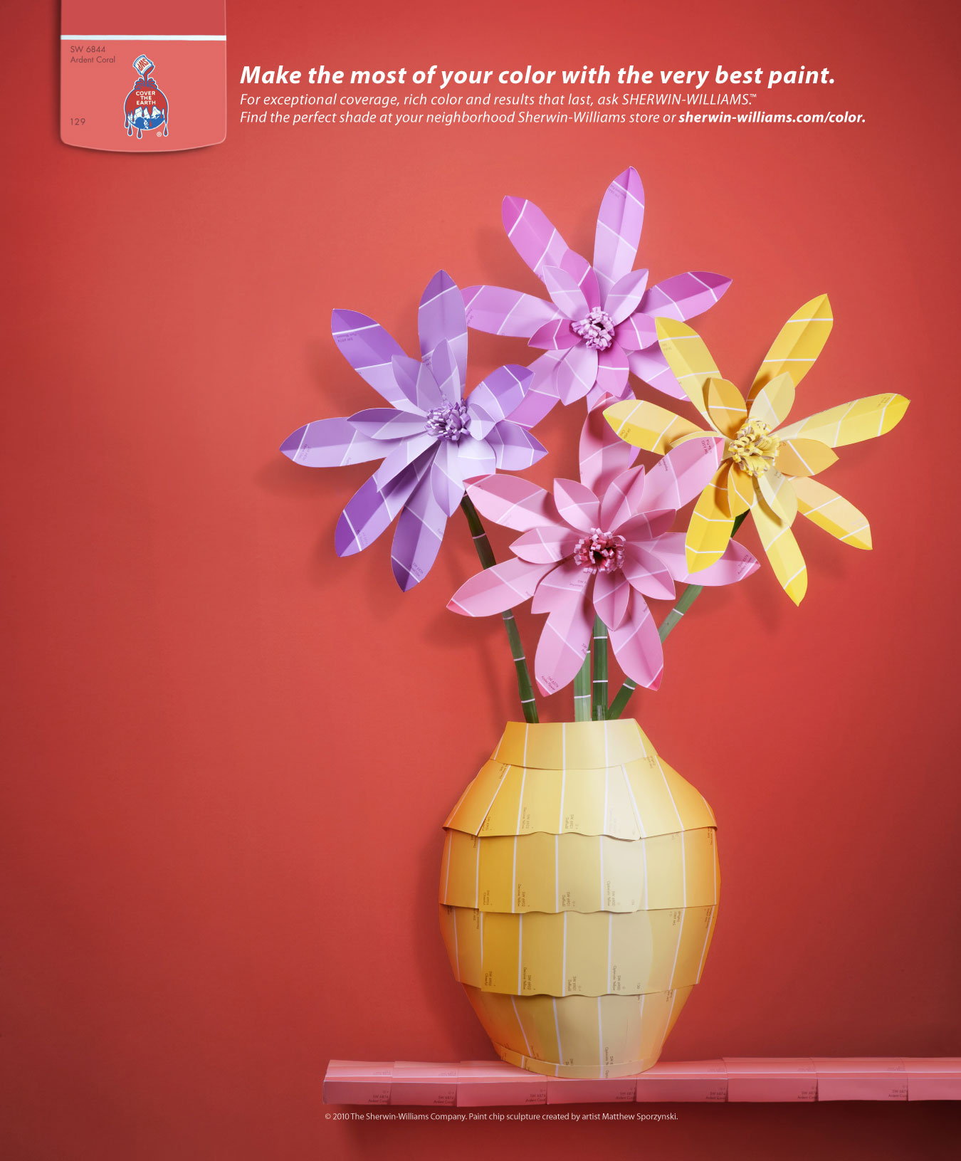 Sherwin-Williams: Flowers - Print (image) - Creativity Online