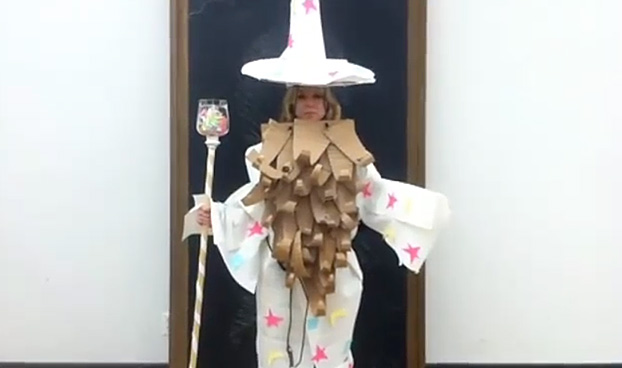 Editoru0027s Pick & Space 150: Halloween Costumes Using Office Supplies -- Wizard ...